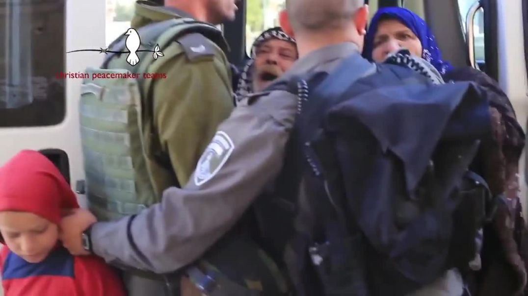 11- Official Israeli Policy is to Terrorise  & Humiliate Palestinian Children