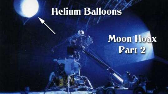 Moon Hoax - More Astronauts Playing With Their Balloons