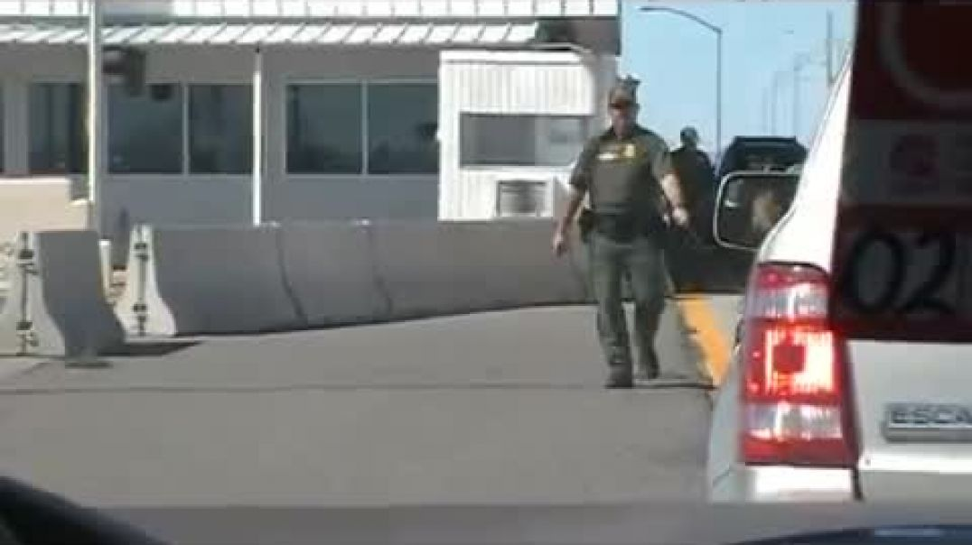 Man Refuses to Cooperate with Unconstitutional Checkpoint