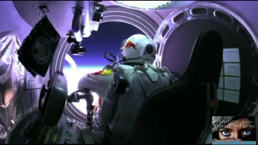 Felix Baumgartner Space jumper  why did the BBC edit this footage out from inside capsule