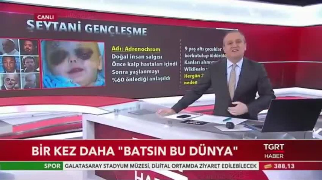 THE TRUTH BEHIND ADRENOCHROME - Turkish Television