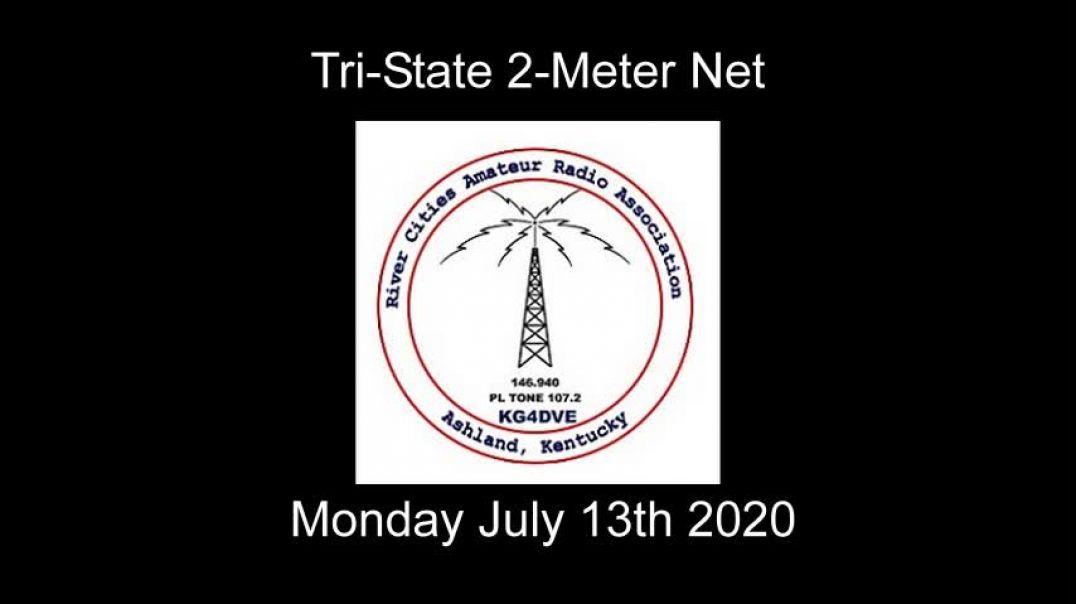 Tri-State 2 Meter Net 7-13-2020 Monday