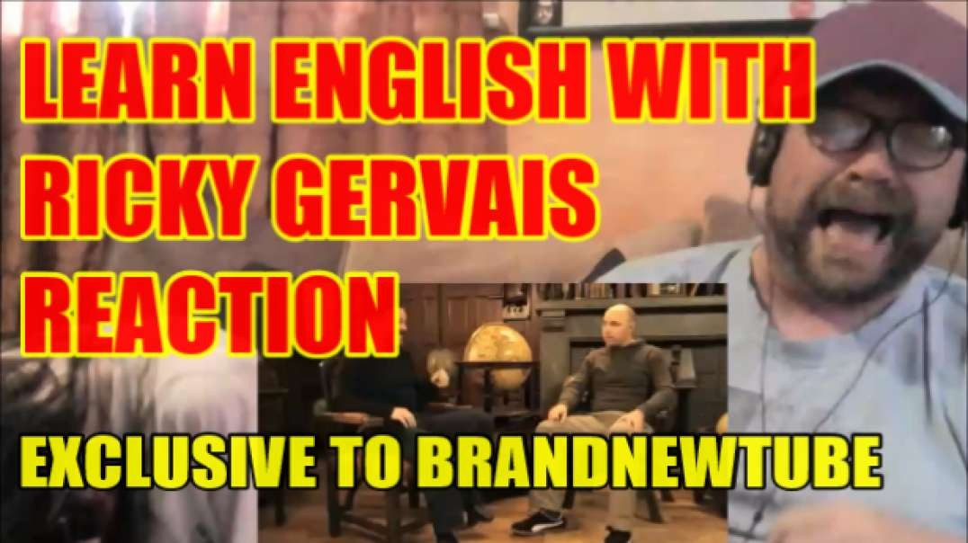 Learn English With Ricky Gervais Reaction