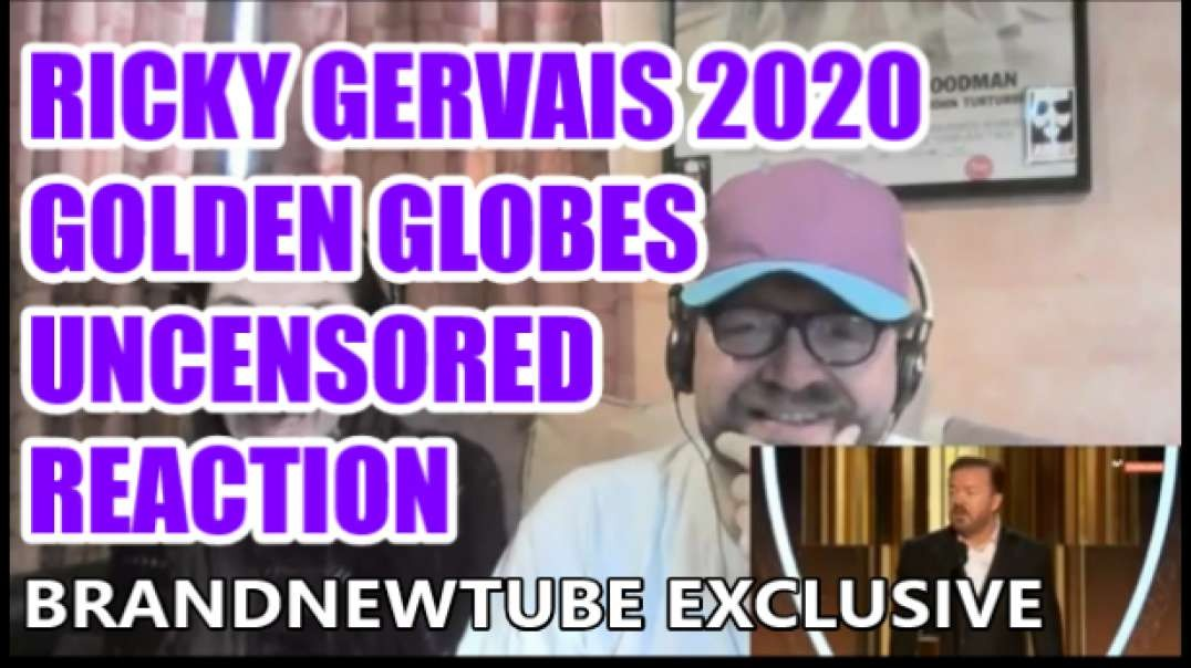 Ricky Gervais Golden Globes 2020 Uncensored Reaction
