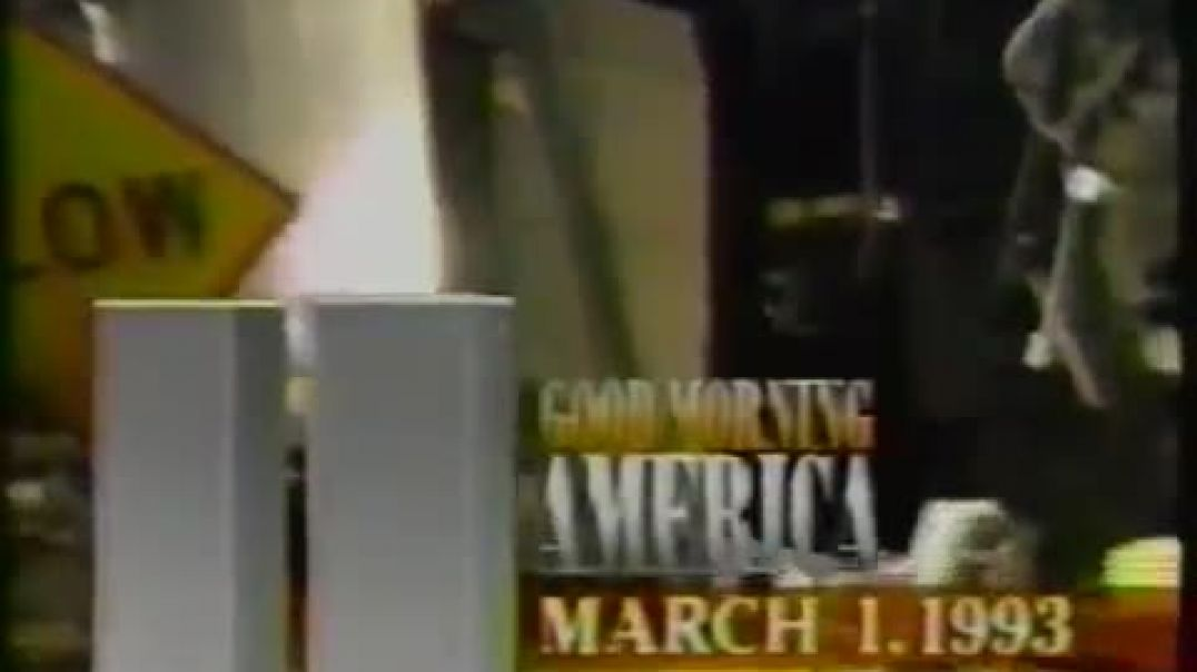 1993 World Trade Center Bombing Coverage (Good Morning America) (3-1-1993)